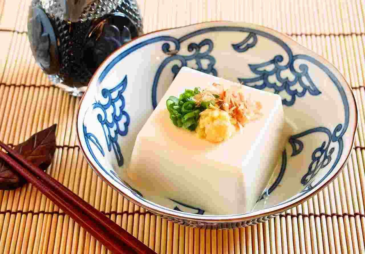 美味しそうな豆腐