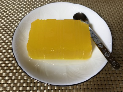 みなさまのお墨付き 寒天ゼリ- オレンジ味