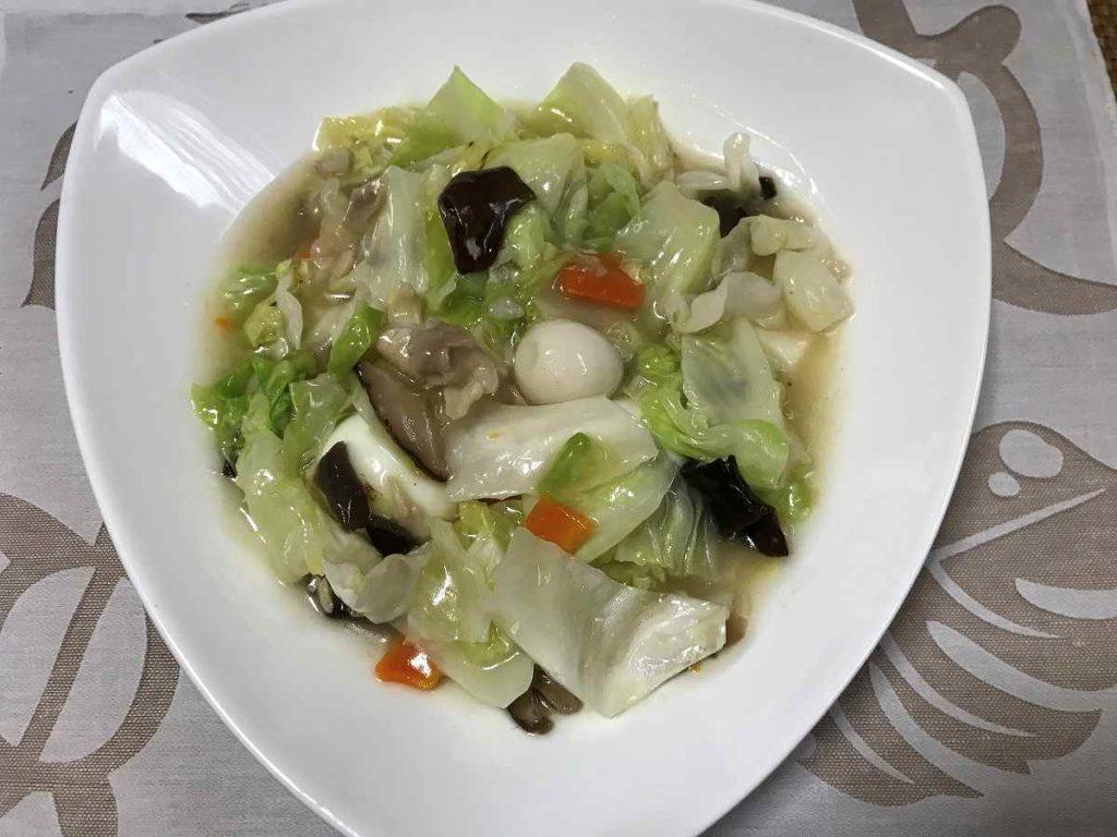 日本ハムのレトルト八宝菜