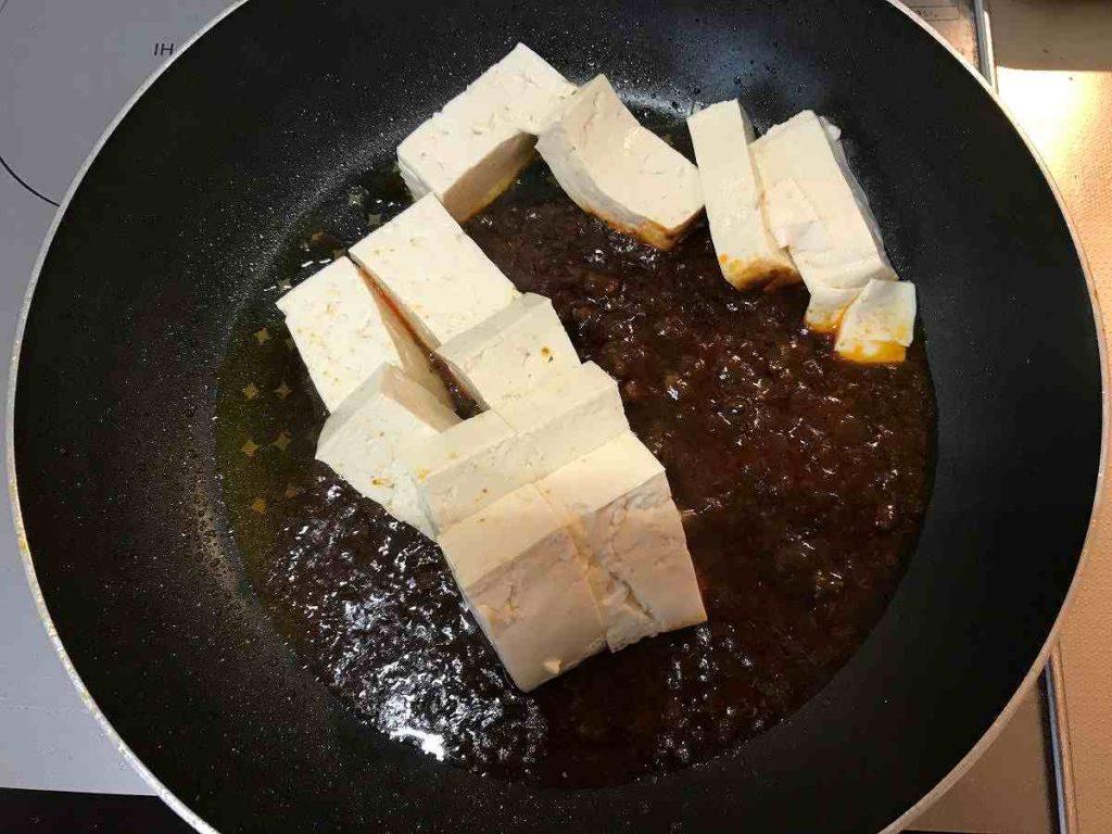 麻婆豆腐 とうふ横切れてない図