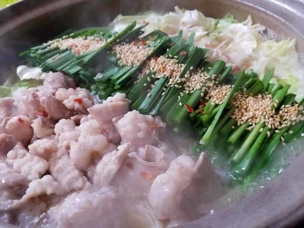 もつ鍋は福岡の郷土料理